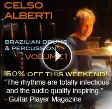 The Loop Loft Celso Alberti Brazilian Drums & Percussion Vol 1