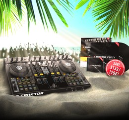 Native Instruments Traktor Kontrol S4 Scratch Upgrade Kit