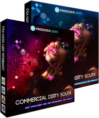 Producer Loops Commercial Dirty South Vol 2 & 3
