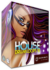 Silicon Beats House Drum Loops V1