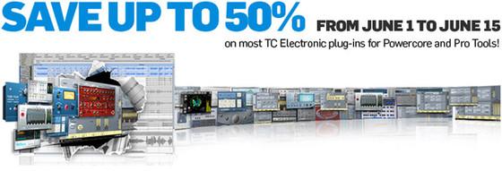TC Electronic promo