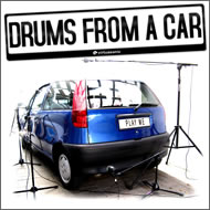 Virtuasonic Drums From a Car