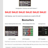 Xenos Soundworks Summer Sale