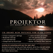 Perimeter Sound Projektor Zebra 2.5