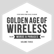 Crate Diggers Golden Age of Wireless - Words & Phrases Vol 3