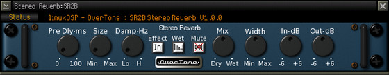 linuxDSP SR-2B reverb