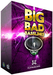Platinum Loops Big Bad Basslines V1 - Electro House