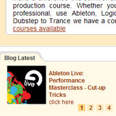 Point Blank Online Ableton Live Performance Masterclass