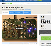 Rockit 8-bit Synth Kit