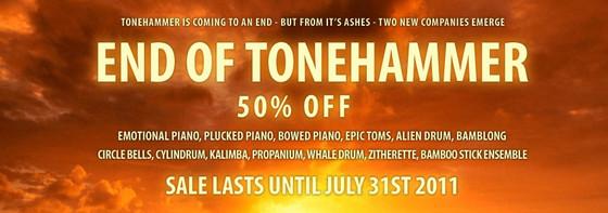 Tonehammer Sale