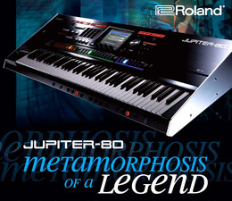 Roland JUPITER-80 Clinic Tour