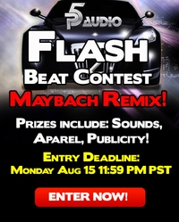 P5Audio Flash Beat Contest Hip Hop Remix Maybach