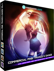 Producer Loops Commercial RnB: Trance & Dance Vol 4