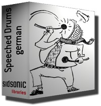 Sidsonic Speeched Drums german