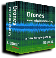 Sidsonic Libraries Drones - even whales would cry