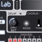 Synthix effects panel