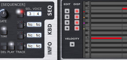 XILS-lab Synthix sequencer panel