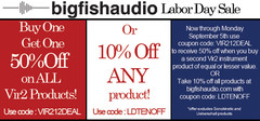 Big Fish Audio Labor Day Sale