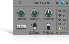 Cakewalk PC4K S-Type Expander Gate Module