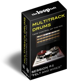 The Loop Loft Felt & Wires Multi-Track Drums