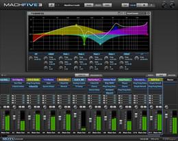 MOTU MachFive 3.0 Mixer