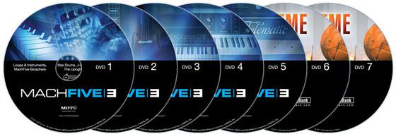 MOTU MachFive discs