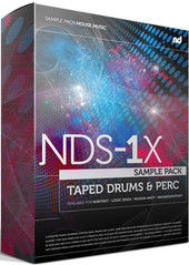 No Dough Music NDS-1X Taped Drums &amp; Perc