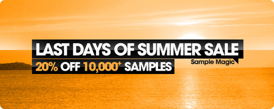 Sample Magic Last Days of Summer Sale