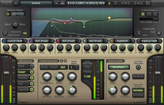DNR Collaborative MixControl Pro (small interface)