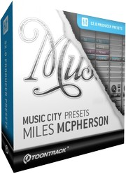 Toontrack Music City Presets - Miles McPherson