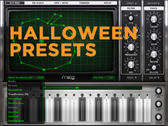 Animoog Halloween presets