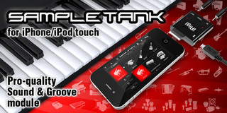 IK Multimedia SampleTank for iPhone