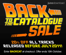 Juno Back Catalog Sale