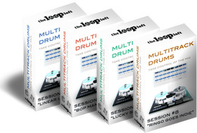 The Loop Loft Multitrack Drums Bundle 2