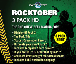 EastWest Rocktober 3 Pack HD