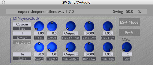 Expert Sleepers Silent Way Sync