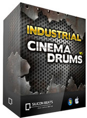 Silicon Beats Industrial Cinema Drums V1