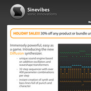 Sinevibes Holiday Sale