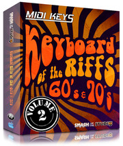 Smash Up The Studio MIDI Keys Keyboard Riffs of the 60s and 70s Vol 2