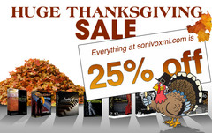 Sonivox Thanksgiving Sale