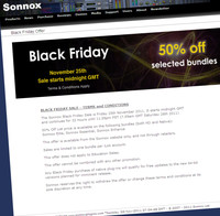 Sonnox Black Friday Sale