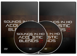 Sounds In HD Acoustic Blends Drum Kits 1 & 2
