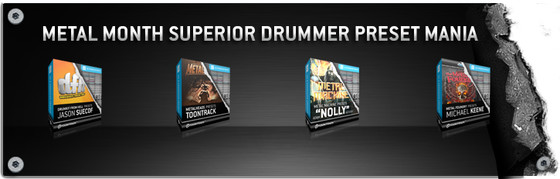 Toontrack Superior Drummer Preset Mania