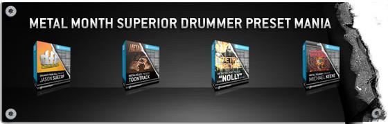 Toontrack Superior Drummer Preset Mania
