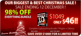 Crysonic Christmas Bundle Sale
