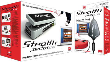 IK Multimedia StealthPedal CS / StealthPlug CS