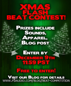 P5Audio Xmas Flash Beat Contest