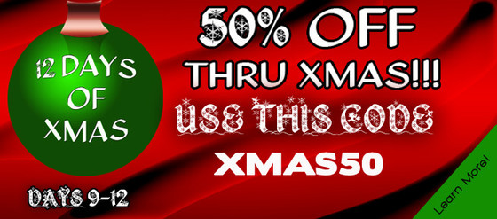 P5Audio 50% off Xmas Sale