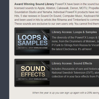 PowerFX Sound Libraries