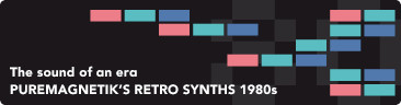 Puremagnetik Retro Synths 1980s
